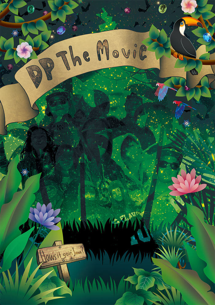 D P THE MOVIEを見た!!!