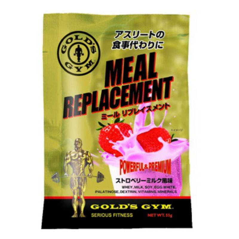 ゴールドジムから、新商品サプリメント「ミール リプレイスメント」が入荷しました!!