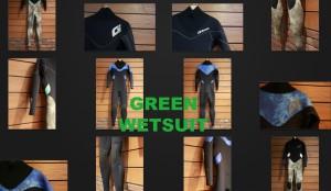 「国産」GREENウエットスーツをご存知ですか?