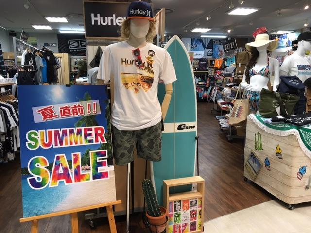 夏直前!SUMMER SALE スタート !!!