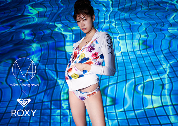 4.27 ROXY x M / MIKA NINAGAWA 蜷川実花デザインの夏