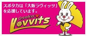 SPOTAKAは大阪ラビッツを応援しています
