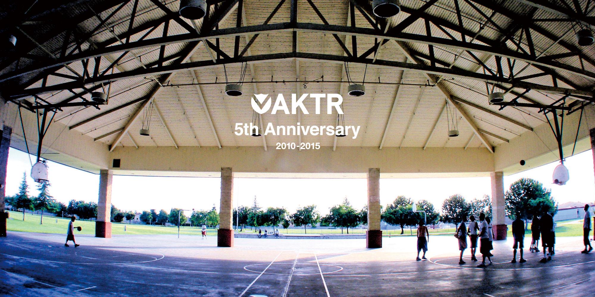 AKTR 5周年記念Tシャツ!