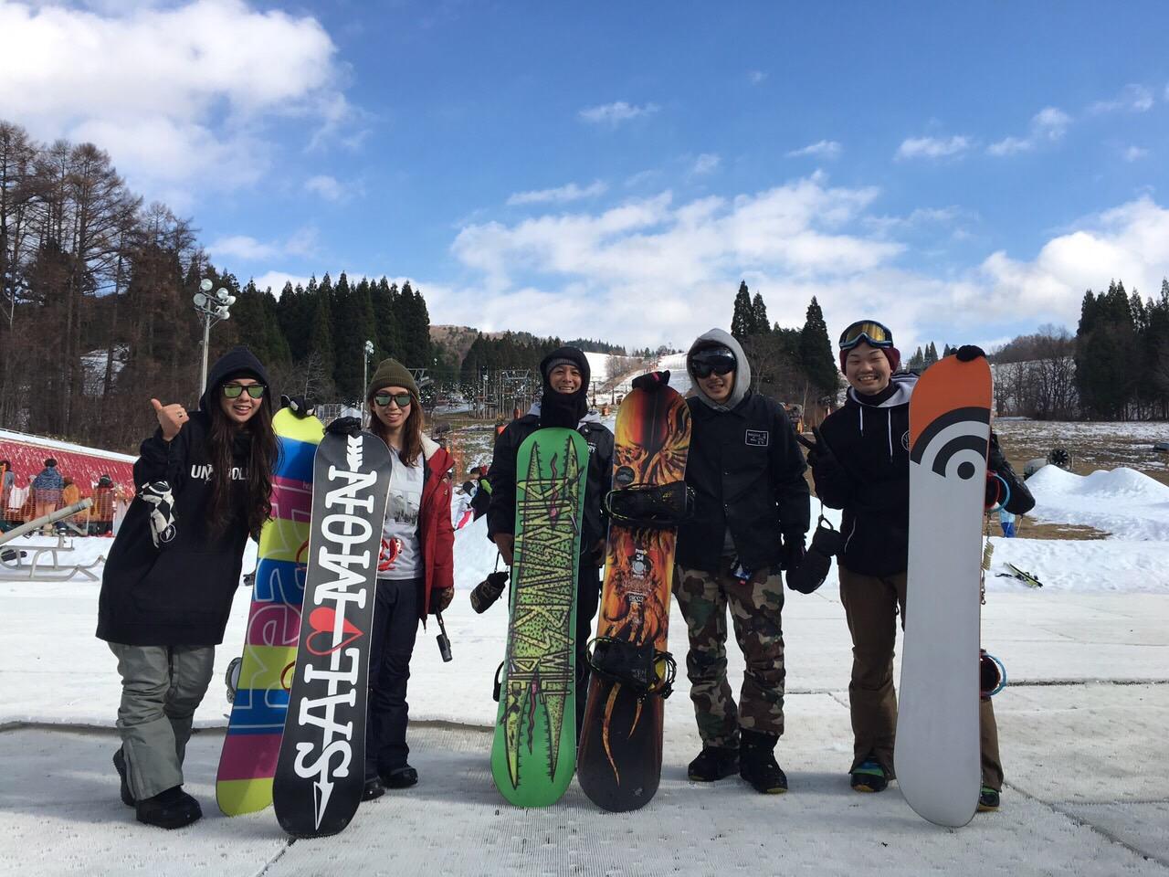 ☆鷲ヶ岳スキー場へ行ってきましたよ☆