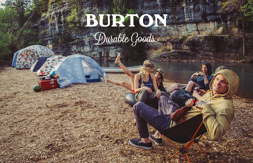 あの有名スノーボードメーカーBURTON とキャンプブランド BIG AGNESがテントを作った