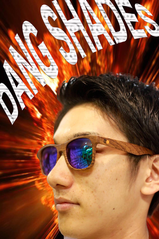 山 & 海で人気のサングラス DANG  SHADESとGOLDCOAST SKATEBOARD Wネームモデル が今☆ドシブ☆