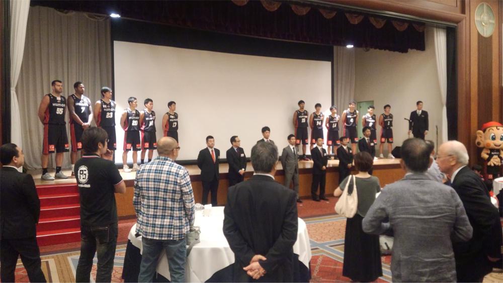 大阪エヴェッサのティップオフパーティーに参加させてもらいました!