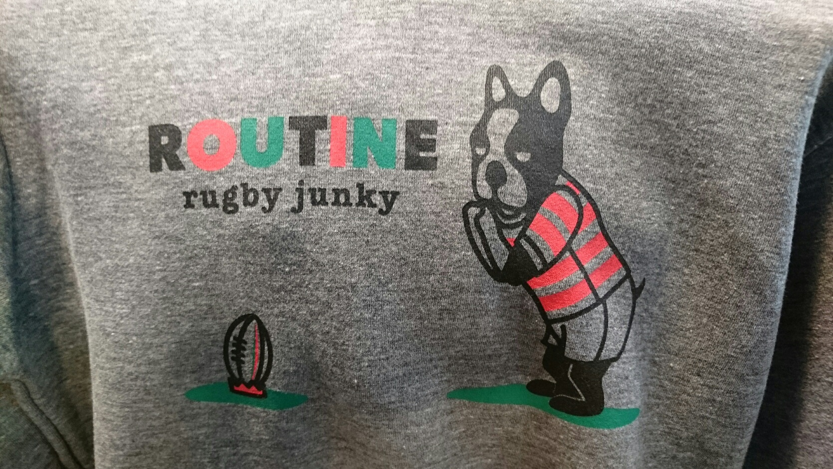 RUGBY JUNKY (ラグビージャンキー) ルーティンパーカー