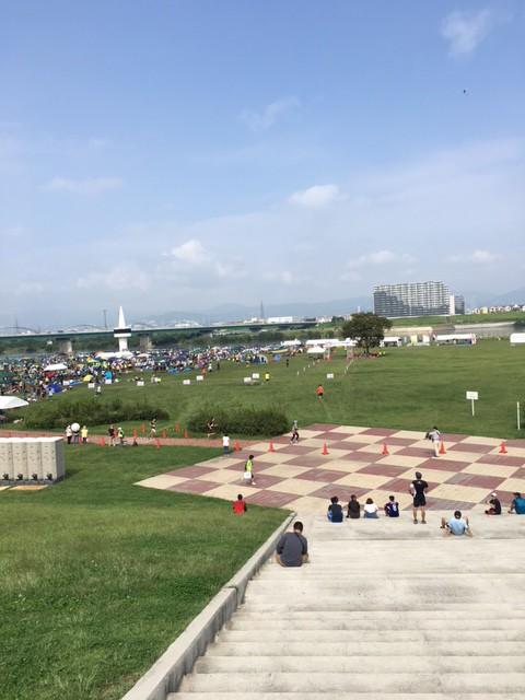 第22回 淀川リレーマラソン出店風景♪