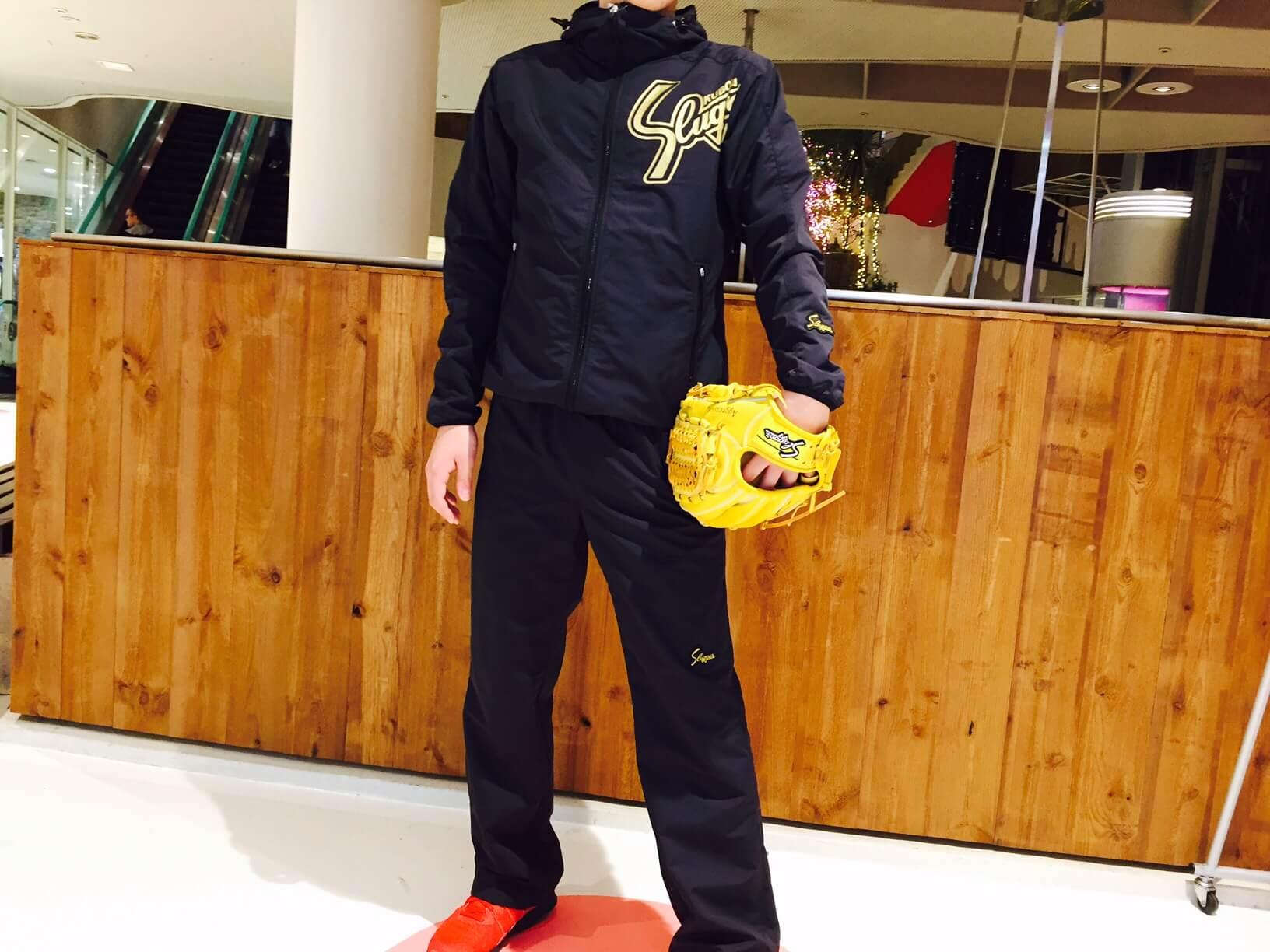お待たせしました~やっと入荷しました!久保田スラッガー2016限定ウインドブレーカー!たくさんのお問い合わせいただきありがとうございます!