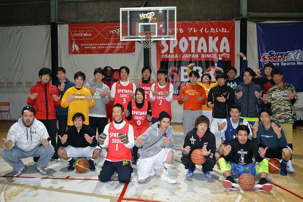 バスケ練習会を開催します!11月22日(水)20時~22時 HOOP7東大阪店にて