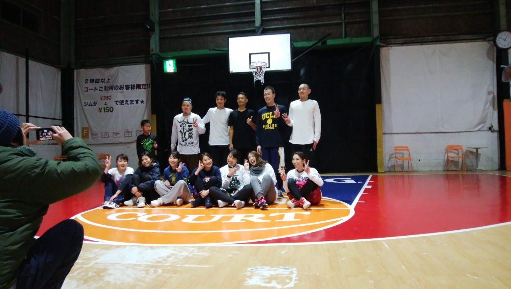 第2回バスケ練習会(HOOP7東大阪店にて)やりました。次回は1/22(月)です!