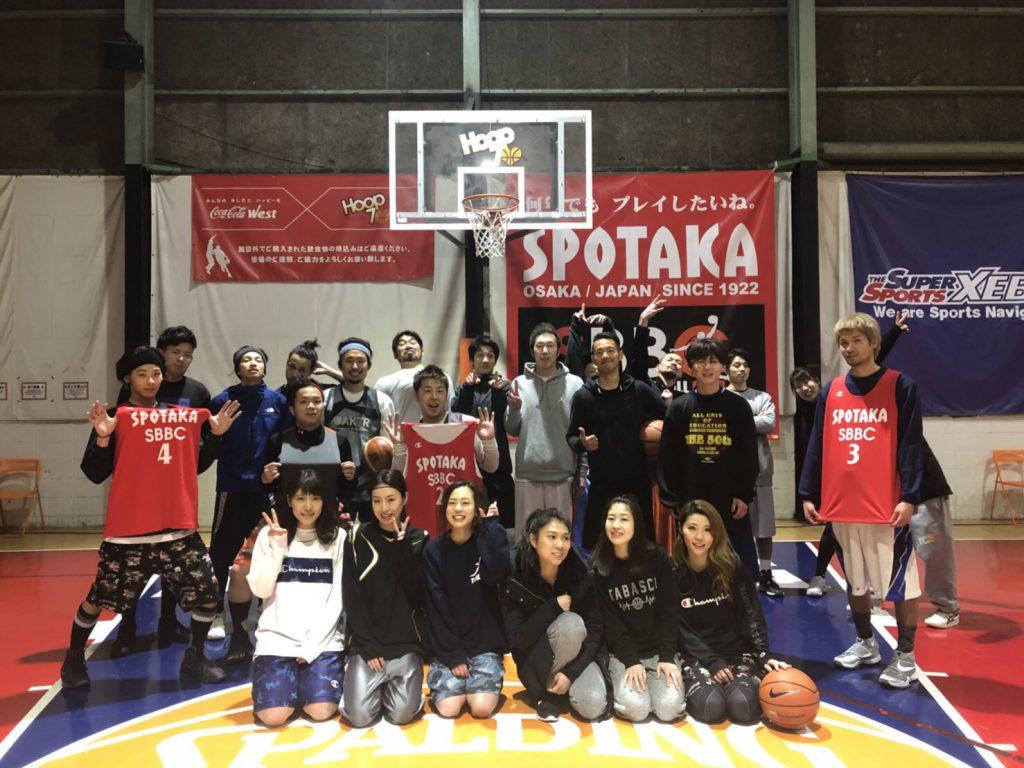 バスケ練習会 in HOOP7 東大阪店  お疲れ様でした!