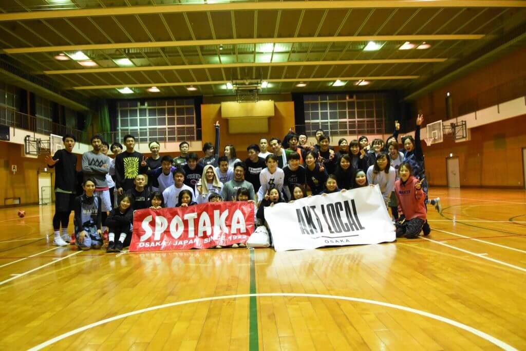 お疲れ様でした!SPOTAKA×AKTR ピックアップゲーム in 難波中学校
