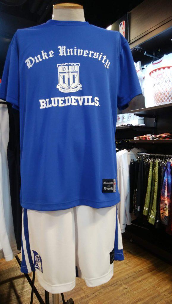 バスケットの名門デューク大(Blue Devils)
