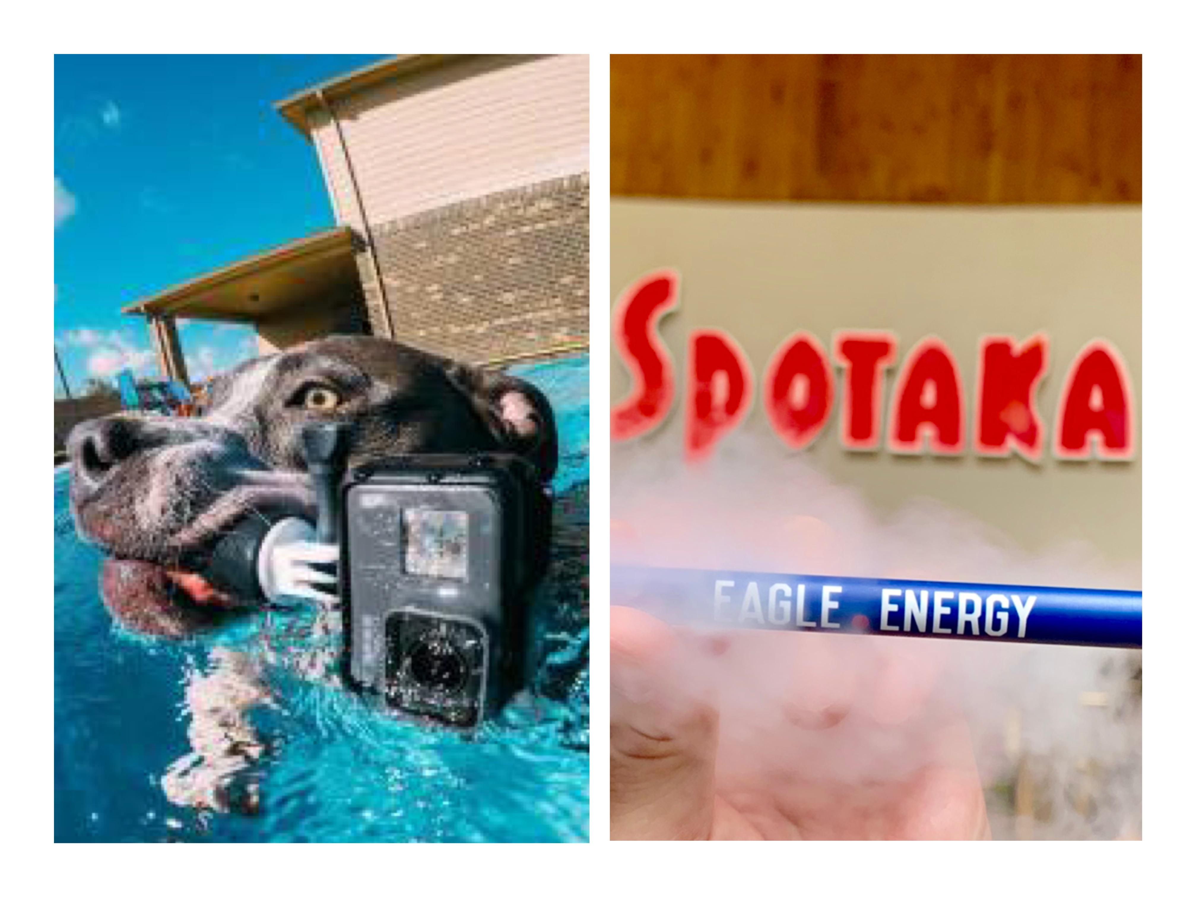 GW企画のお知らせ!『EAGLE.ENERGY』&『GoPro』 今欠かせない人気アイテムがスポタカにあるよ!